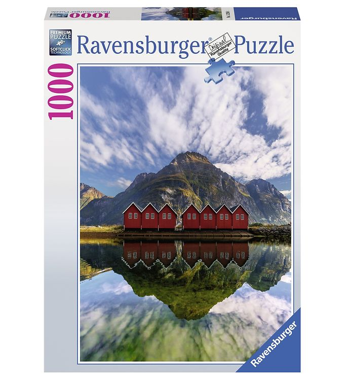 Image of Ravenburger Puslespil - 1000 Brikker - Sunndalsora (RB502)
