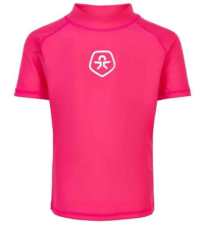 Image of Color Kids Badebluse - UV50+ - Pink Yarrow (RB528)