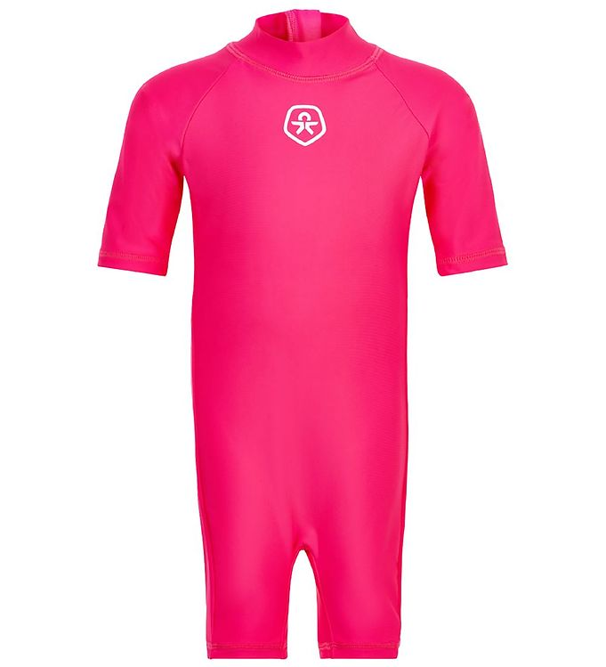 Image of Color Kids Badeheldragt - UV50+ - Pink Yarrow (RB529)