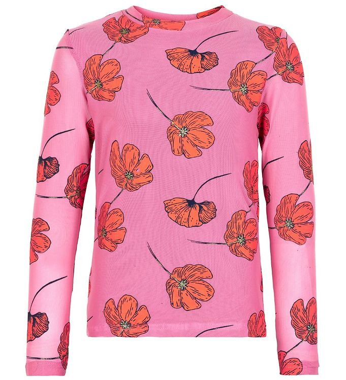 Image of The New Bluse - Tessie - Heather Rose m. Blomster (RB589)