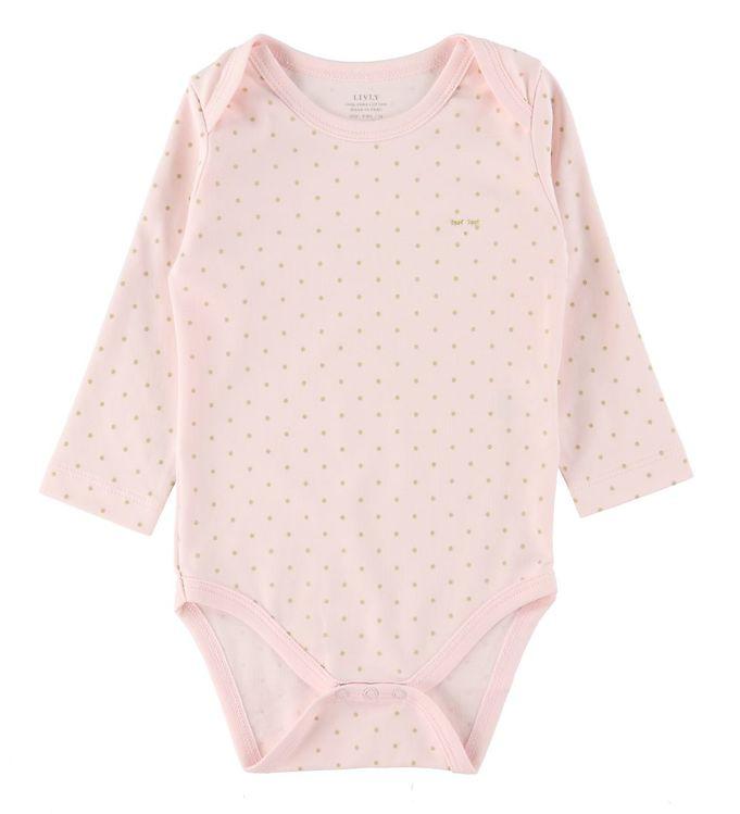 Image of Livly Body l/æ - Saturday - Baby Pink/Guld (RB597)