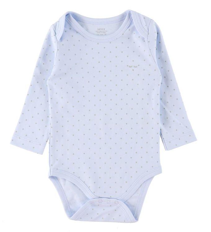 Image of Livly Body l/æ - Saturday - Baby Blue/Sølv (RB647)
