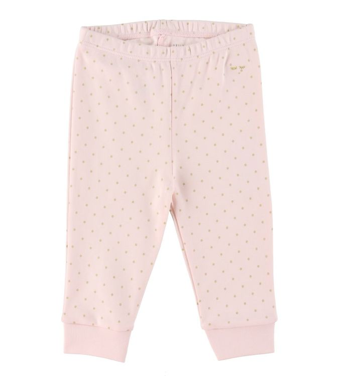 Image of Livly Bukser - Saturday - Baby Pink/Guld (RB652)