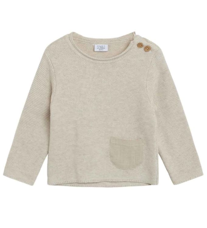 Image of Hust and Claire Bluse - Strik - Pilou - Beige (RB947)