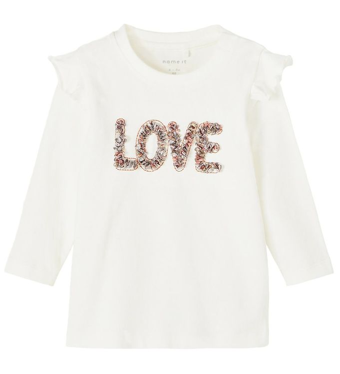 Image of Name It Bluse - NbfDonna - Snow White m. Love (RC004)