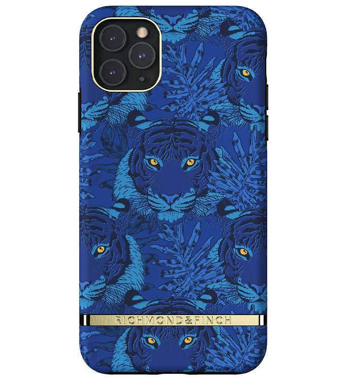 Image of Richmond & Finch Cover - iPhone 11 Pro Max - Blue Tiger (RC060)