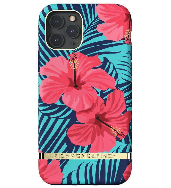 Image of Richmond & Finch Cover - iPhone 11 Pro - Red Hibiscus (RC061)