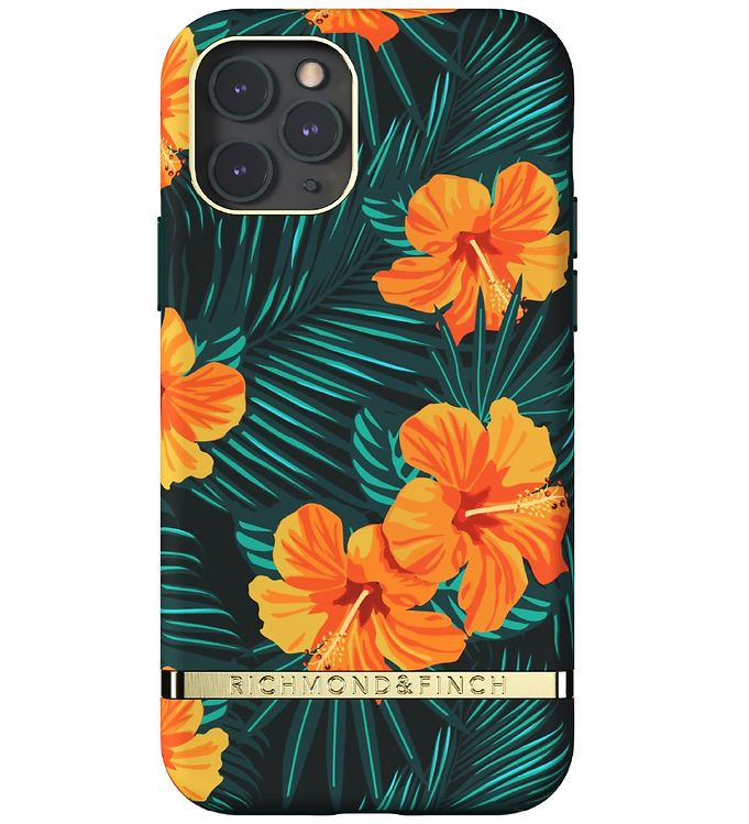 Image of Richmond & Finch Cover - iPhone 11 Pro - Orange Hibiscus (RC062)