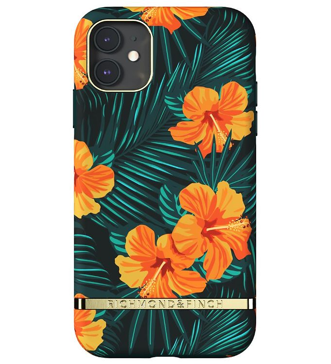 Image of Richmond & Finch Cover - iPhone 11 - Orange Hibiscus (RC063)