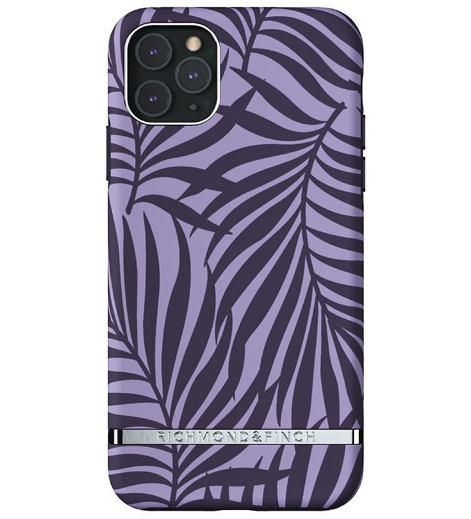 Image of Richmond & Finch Cover - iPhone 11 Pro Max - Purple Palm (RC065)