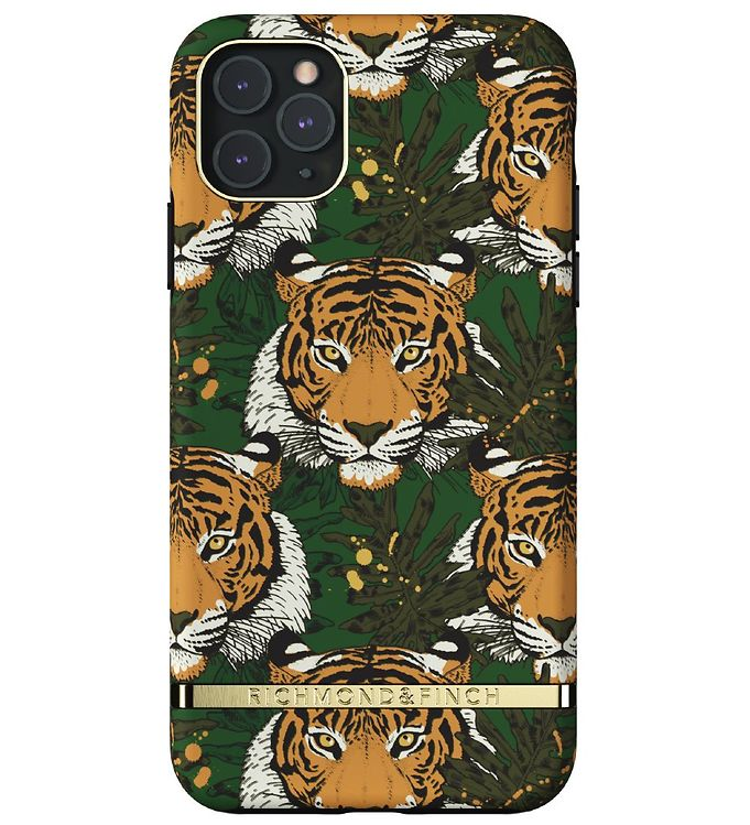 Image of Richmond & Finch Cover - iPhone 11 Pro Max - Green Tiger (RC069)