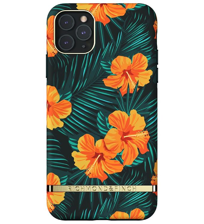 Image of Richmond & Finch Cover - iPhone 11 Pro Max - Orange Hibiscus (RC071)