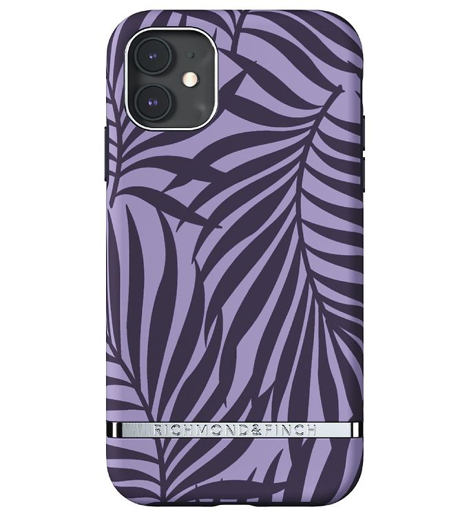 Image of Richmond & Finch Cover - iPhone 11 - Purple Palm (RC073)
