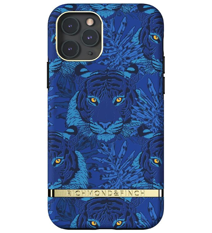 Image of Richmond & Finch Cover - iPhone 11 Pro - Blue Tiger (RC074)