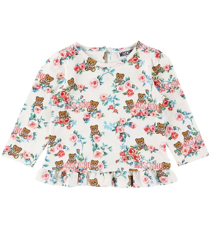 Image of Moschino Bluse - Cloud Toy Roses (RC298)
