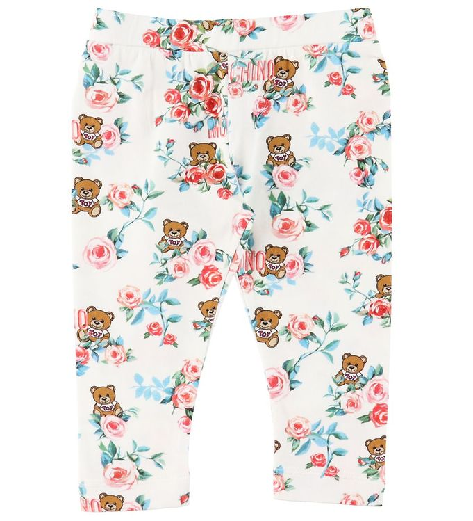 Image of Moschino Leggings - Cloud Toys Roses (RC308)