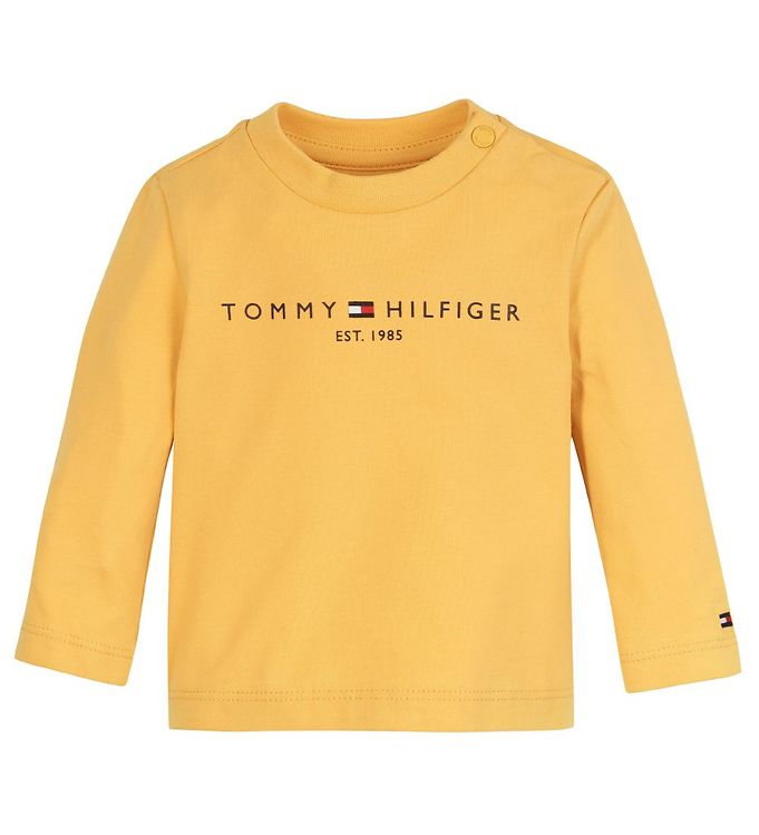 Image of Tommy Hilfiger Bluse - Essential - Organic - Midway Yellow (RC401)