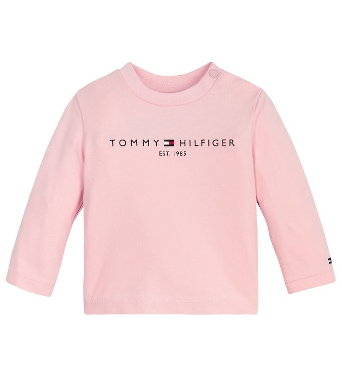 Image of Tommy Hilfiger Bluse - Essential - Organic - Delicate Pink (RC403)