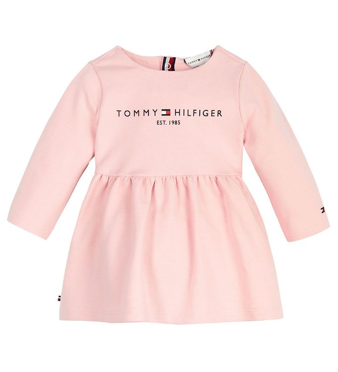 Image of Tommy Hilfiger Kjole - Essential - Delicate Pink (RC695)