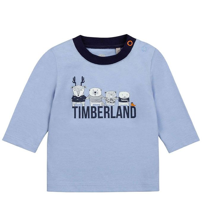 Image of Timberland Bluse - Save The Planet - Pale Blue (RC890)