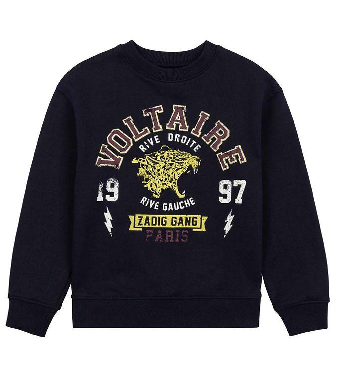 Image of Zadig & Voltaire Sweatshirt - Zadig Gang - Night (RC899)