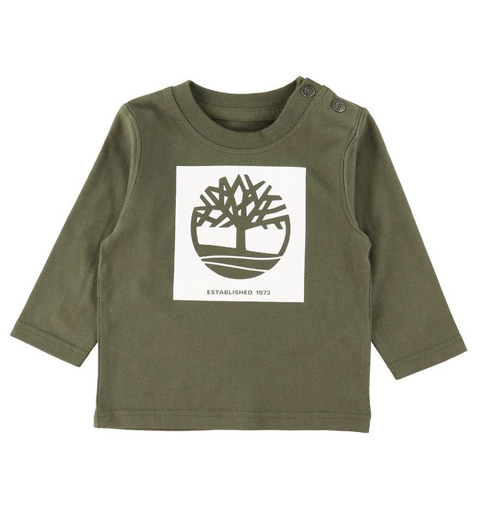 Image of Timberland Bluse - Nature Lover - Khaki (RC901)