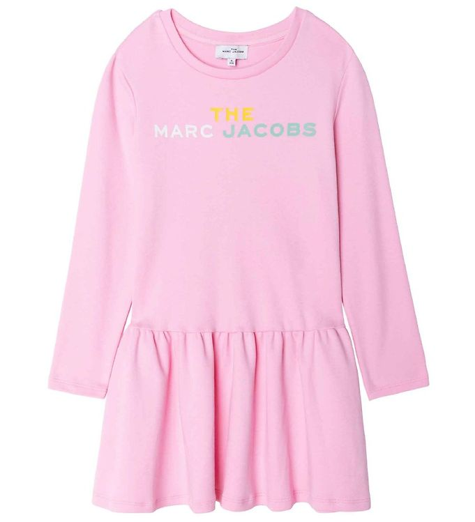 Image of Little Marc Jacobs Kjole - Washed Pink (RC914)