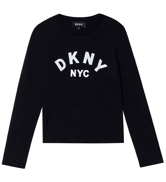 Image of DKNY Bluse - Sort (RC921)