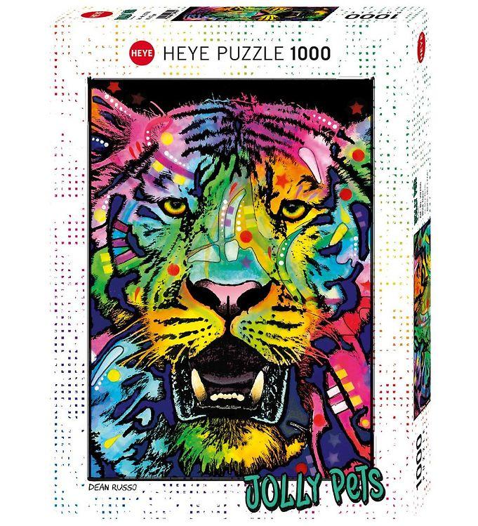 Image of Heye Puzzle Puslespil - Wild Tiger - 1000 Brikker (SA089)