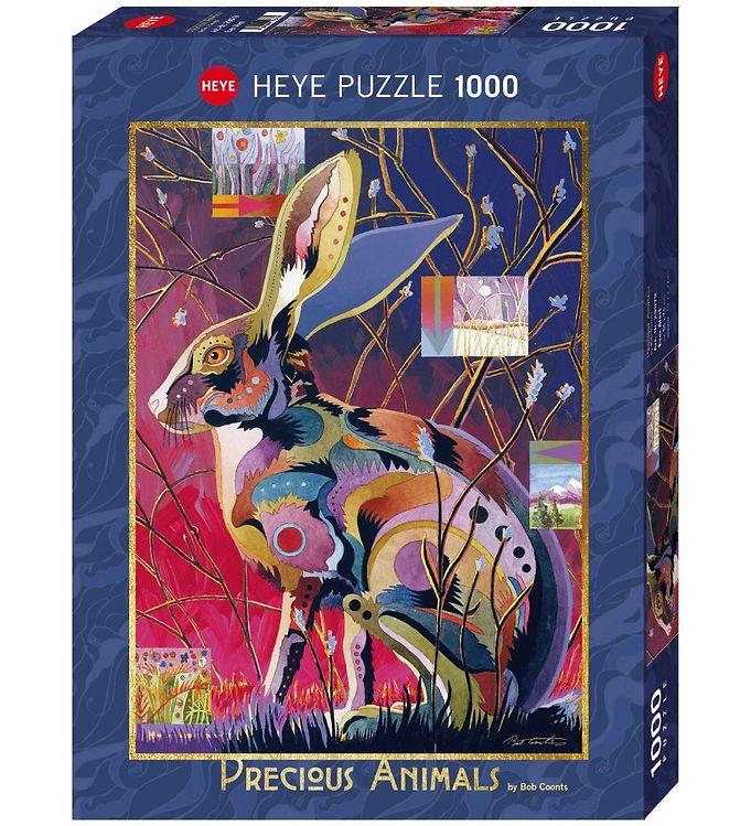 Image of Heye Puzzle Puslespil - Ever Alert - 1000 Brikker (SA090)