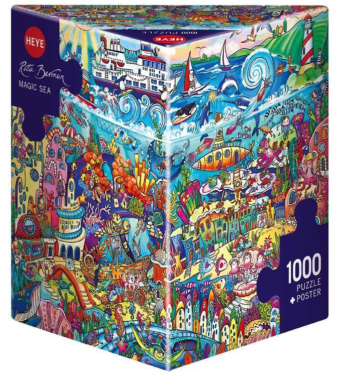 Image of Heye Puzzle Puslespil - Magic Sea - 1000 brikker (SA097)