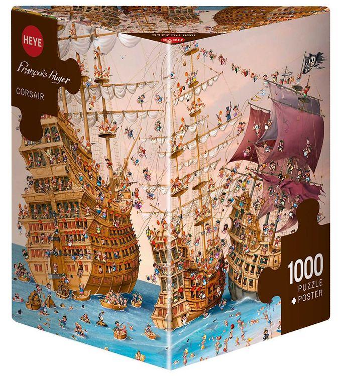 Image of Heye Puzzle Puslespil - Corsair - 1000 Brikker (SA116)