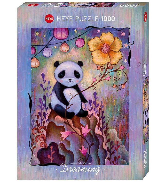 Image of Heye Puzzle Puslespil - Panda Naps - 1000 Brikker (SA117)