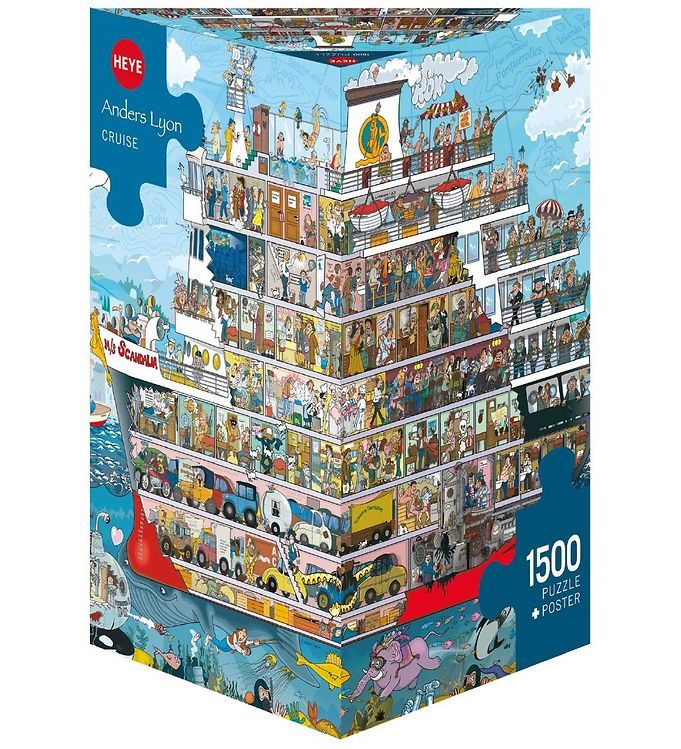 Image of Heye Puzzle Puslespil - Cruise - 1500 pcs (SA119)