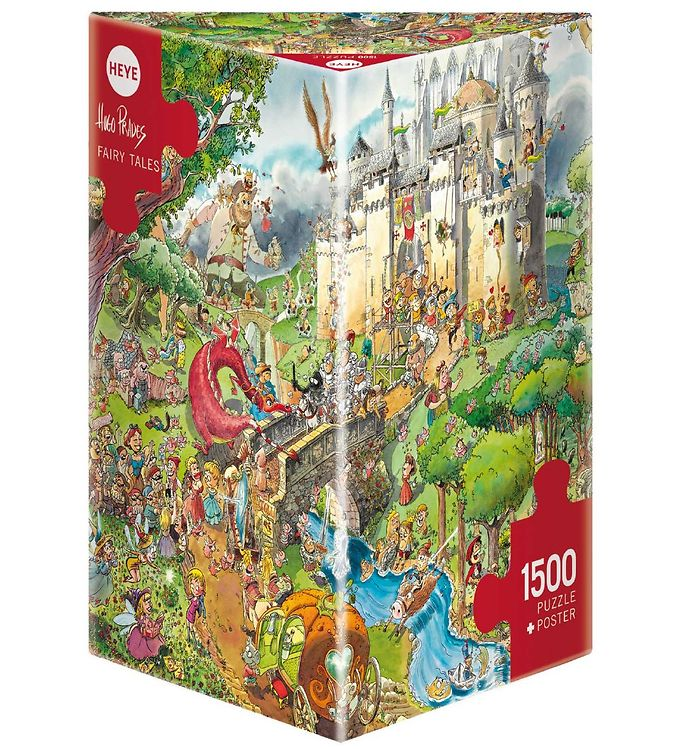 Image of Heye Puzzle Puslespil - Fairy Tales - 1500 Brikker (SA121)