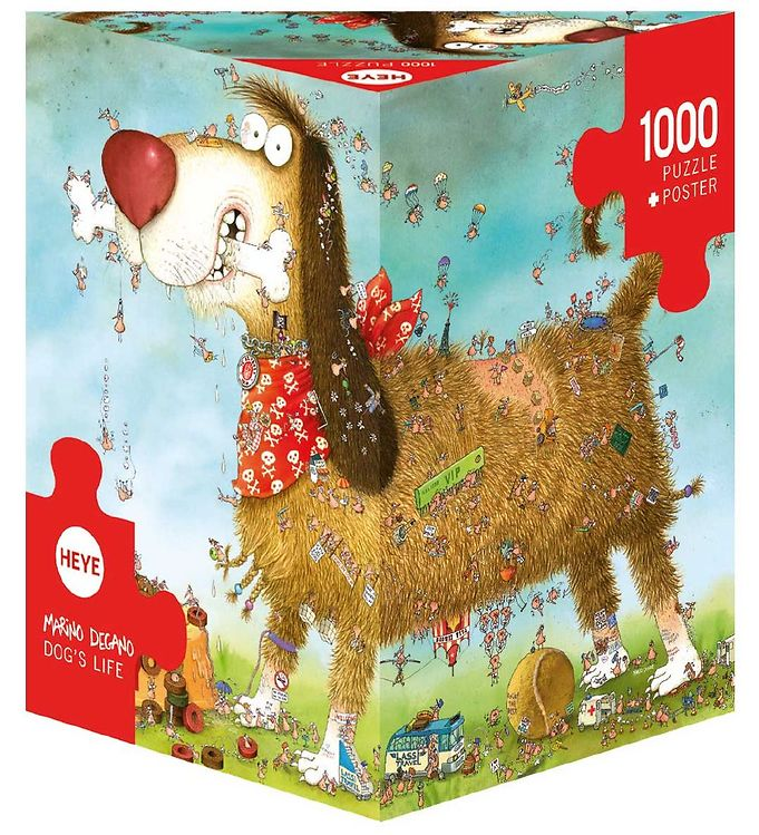 Image of Heye Puzzle Puslespil - Dogs Life - 1000 Brikker (SA122)