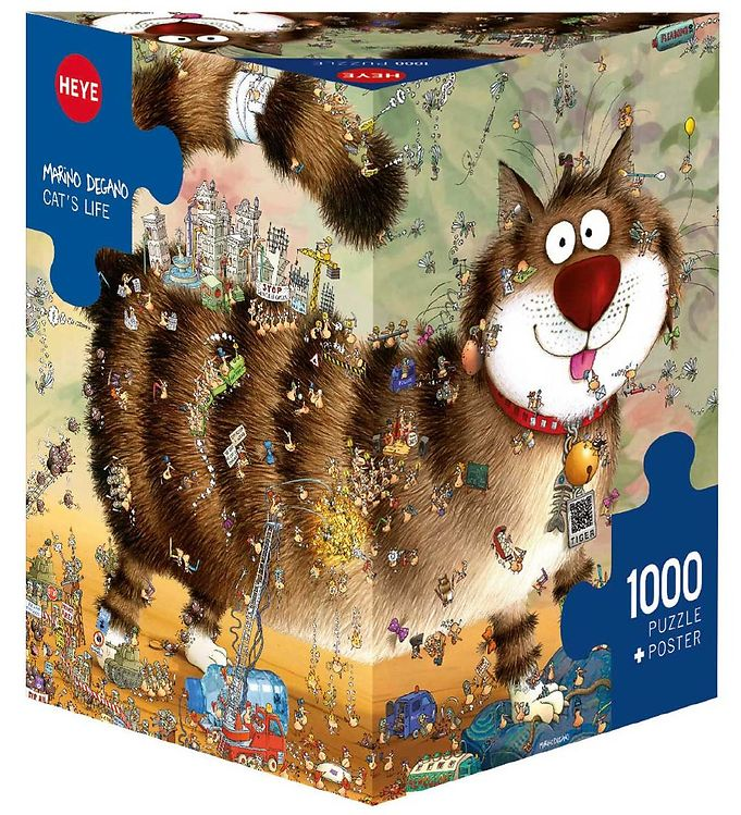 Image of Heye Puzzle Puslespil - Cat´s Life - 1000 Brikker (SA124)