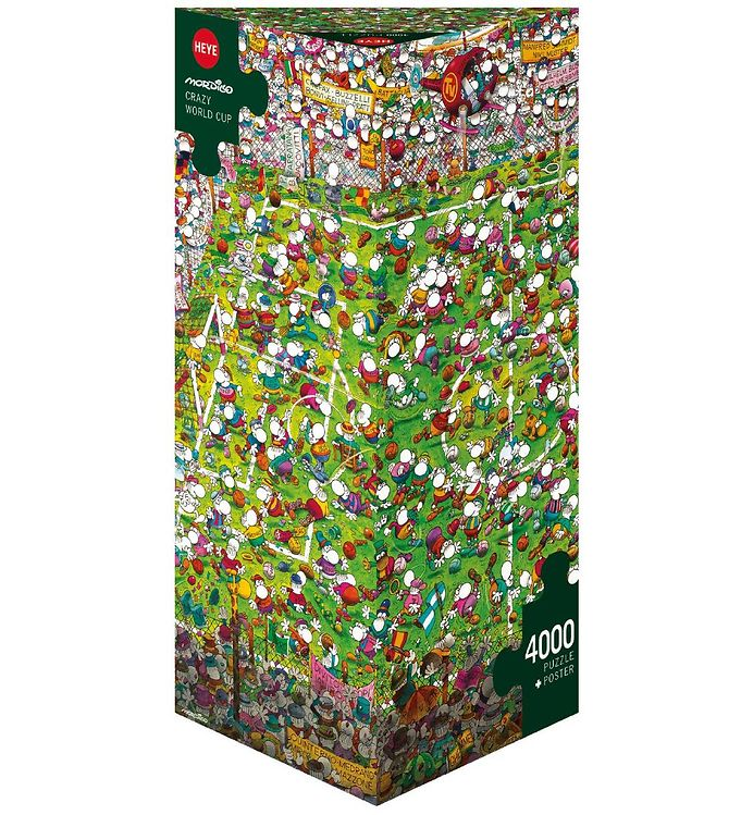 Image of Heye Puzzle Puslespil - Crazy World Cup - 4000 Brikker (SA125)