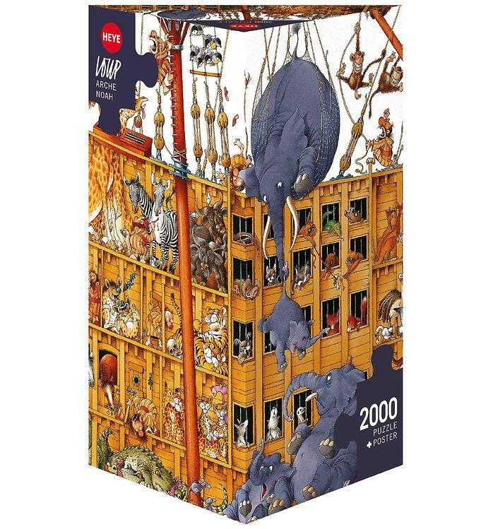 Image of Heye Puzzle Puslespil - Arche Noah - 2000 Brikker (SA126)