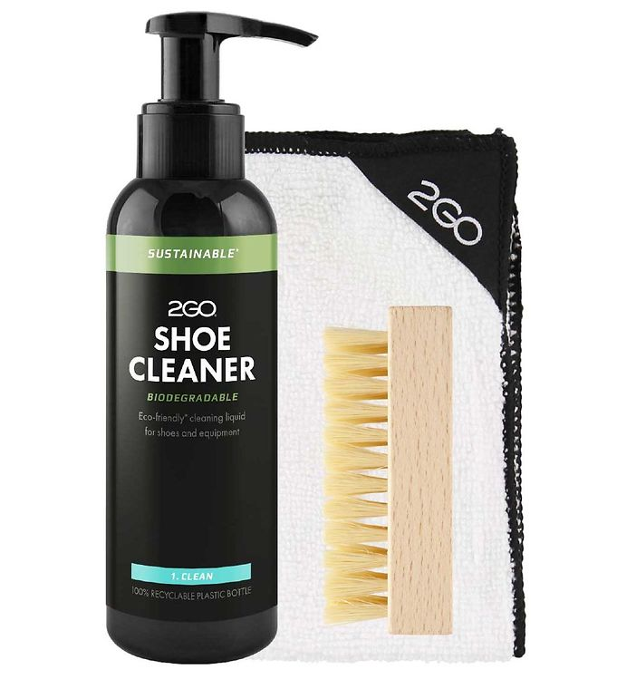 Image of 2GO Skoplejesæt - 150 ml - Trin 1 - Shoe Cleaner
