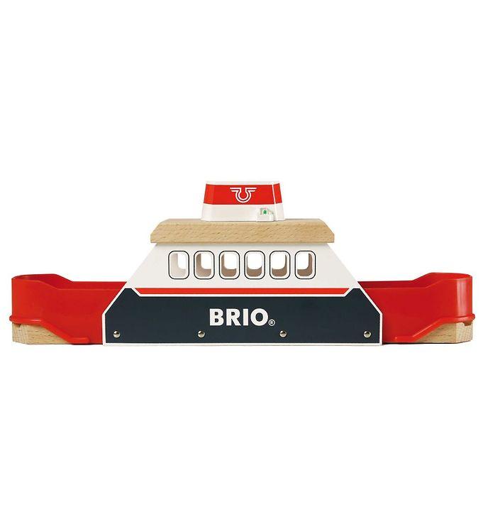 BRIO Færge m. Lys & Lyd - BRIO,BRIO Trælegetøj - Brio