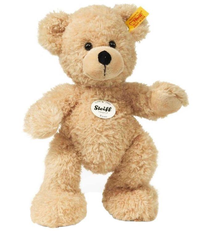 Image of Steiff Bamse - Fynn Teddy Bear - 28 cm - Beige (SB349)