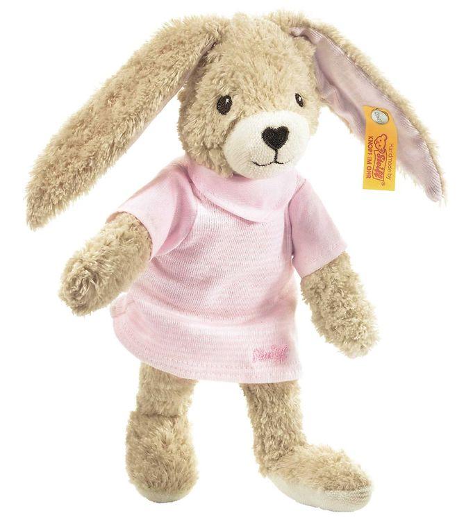 Image of Steiff Bamse - Hoppel Hase - 20 cm - Pink (SB360)