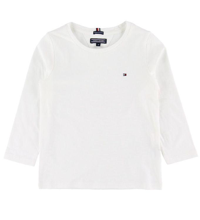 Image of Tommy Hilfiger Bluse - Basic - Bright White (SB477)