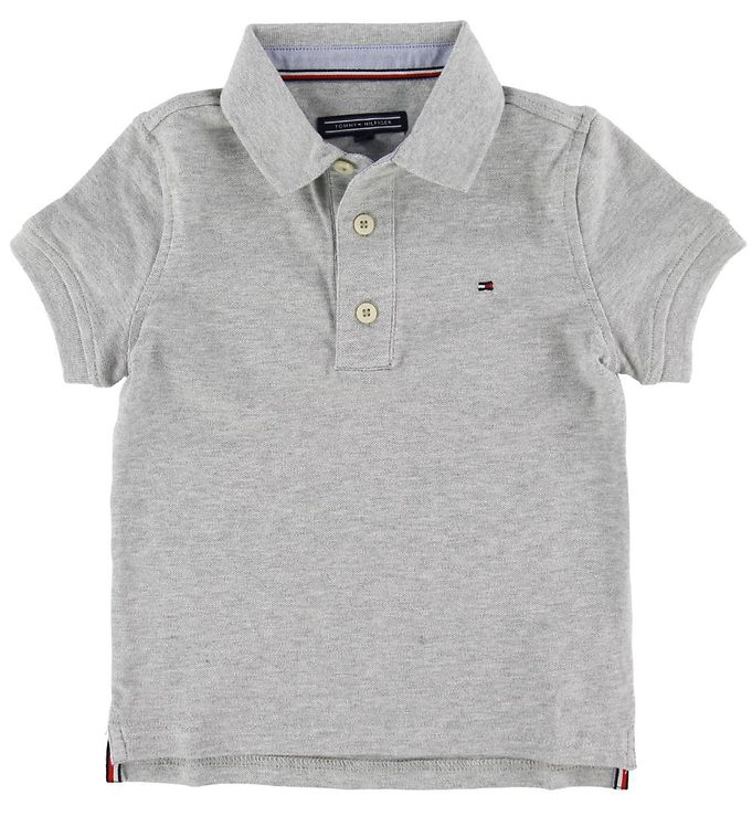 Image of Tommy Hilfiger Polo - Tommy - Grey Heather (SB486)