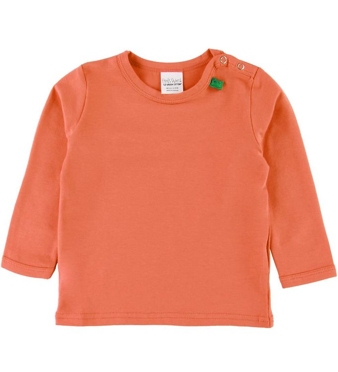 Image of Freds World Bluse - Warm Coral (SC359)