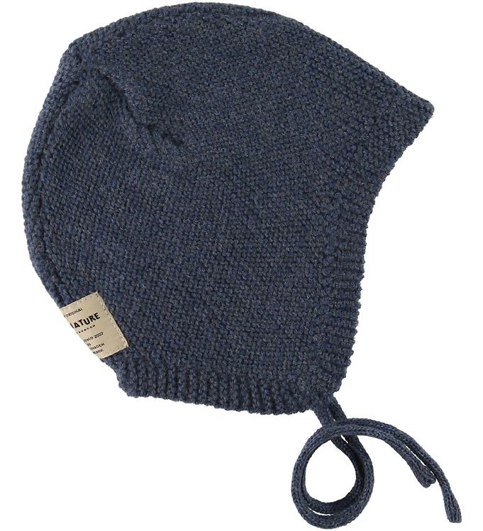 Image of Mini A Ture Hjelm - Filie - Uld - Peacoat Blue (SC420)