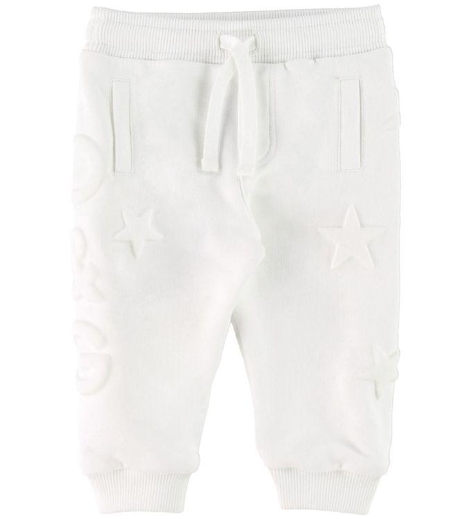 Image of   Dolce & Gabbana Sweatpants - Hvid m. Stjerner