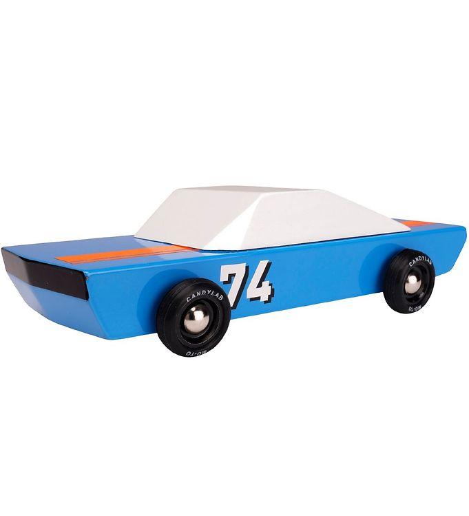 Image of Candylab Bil - 18,3 cm - Americana - Blu74 Racer (SC730)