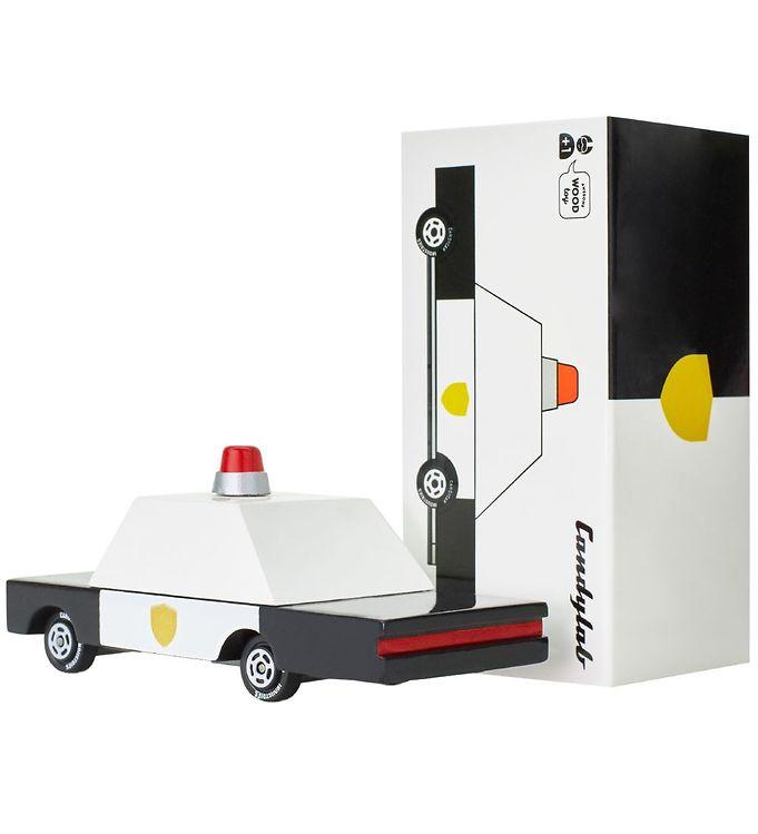 Image of Candylab Bil - 9 cm - Police Car - F871 (SC732)